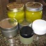 Ta da!  New batch of salve ready to use!