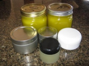 Ta da!  New batch of salve ready to use!